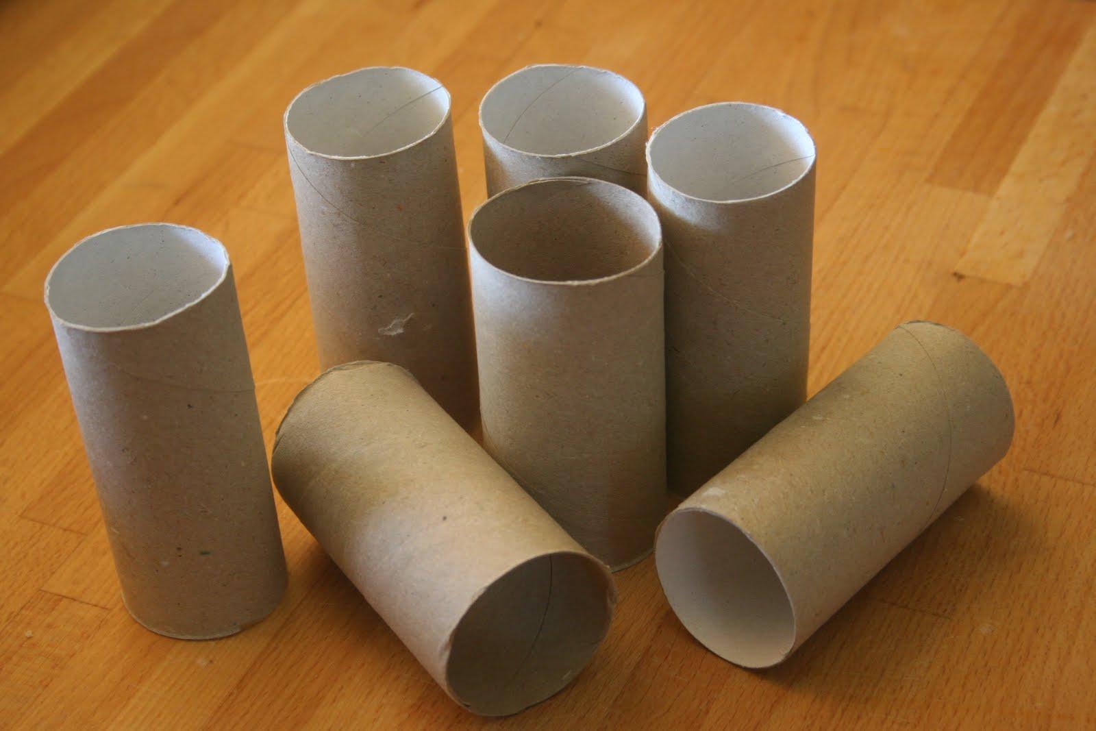 rouleau papier toilette, rouleau de carton, tube de carton,
