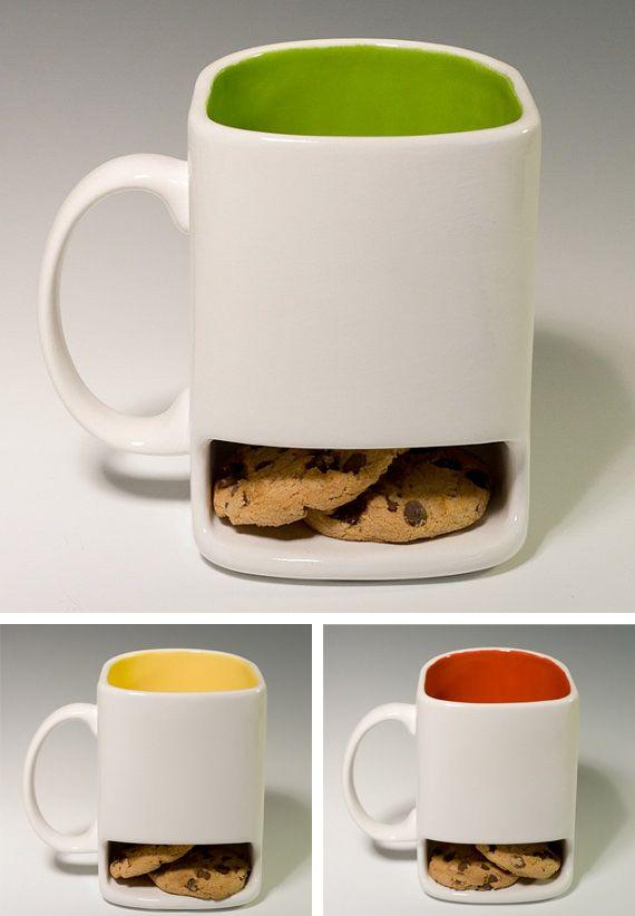 tasse à café biscuit, tasse chocolat chaud biscuit,