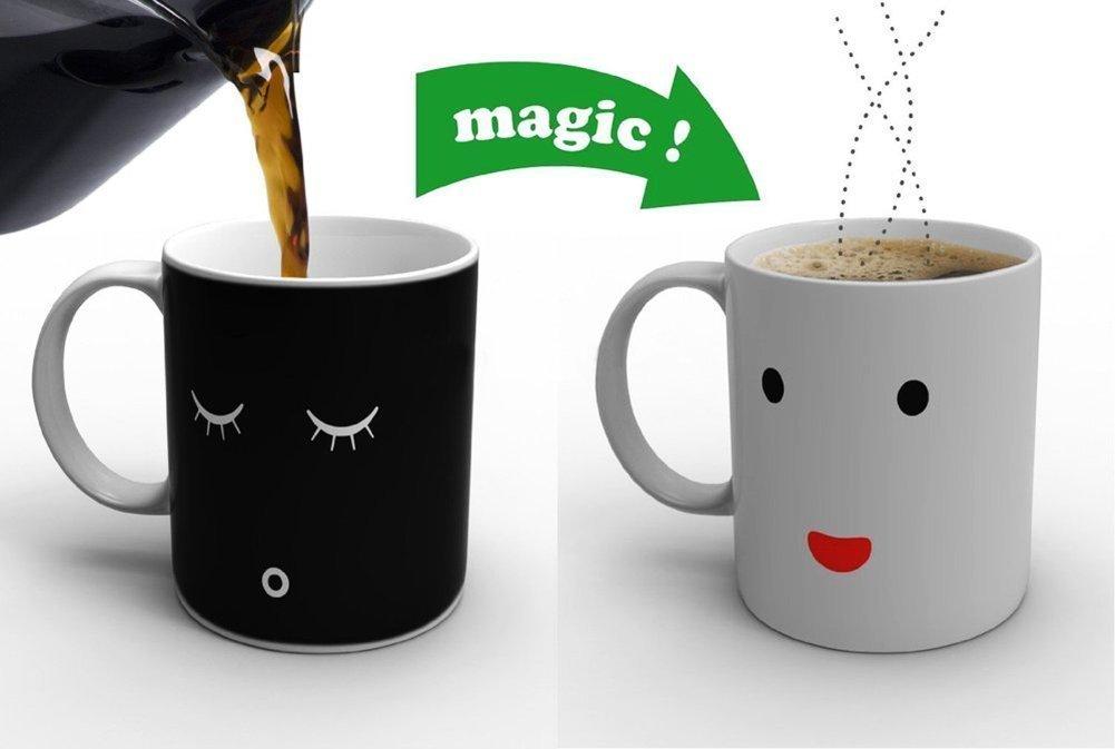 tasse à café qui se transforme,