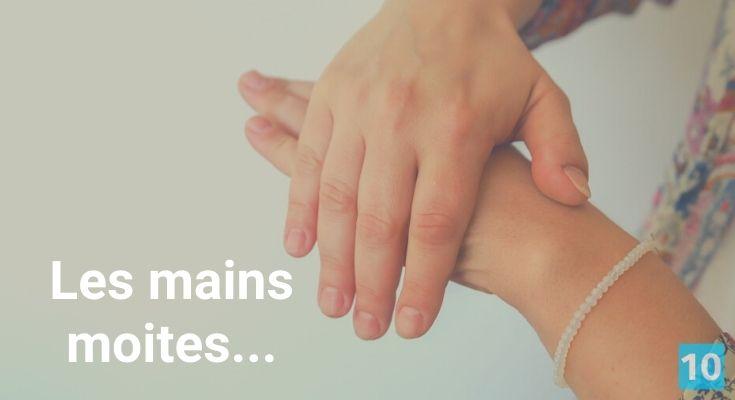 Comment ne plus transpirer des mains?