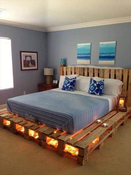 Fabriquer un lit avec des palettes de bois