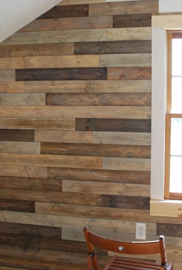 mur en bois,