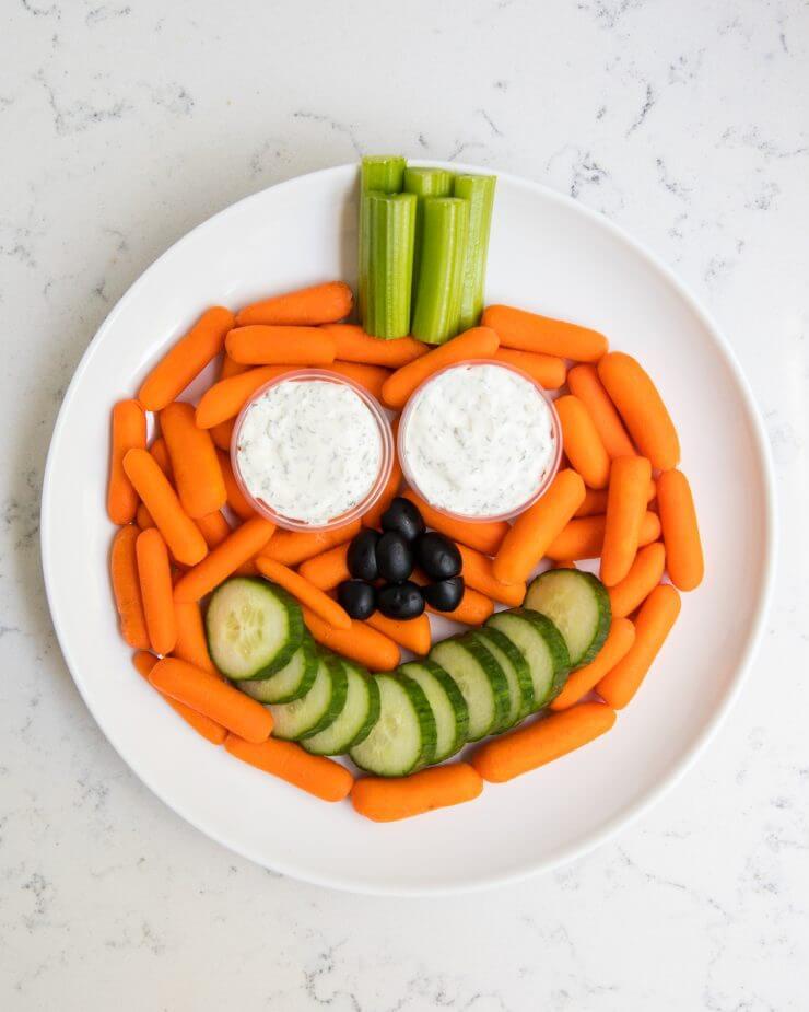Idées de collation santé pour l'Halloween