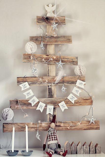Quelques planches pour faire cet arbre de Noël
