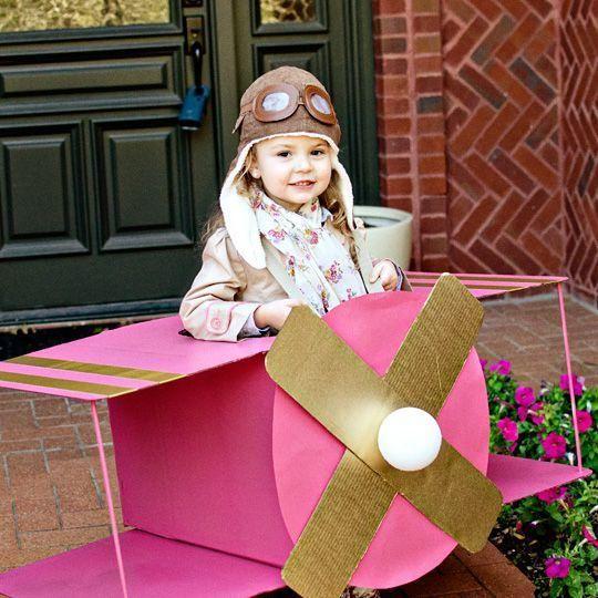 Idée pour fabriquer un avion en carton