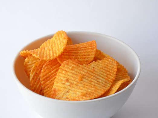 les chips et frittes font grossir