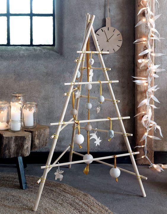 Créer son propre sapin de Noël en forme de triangle