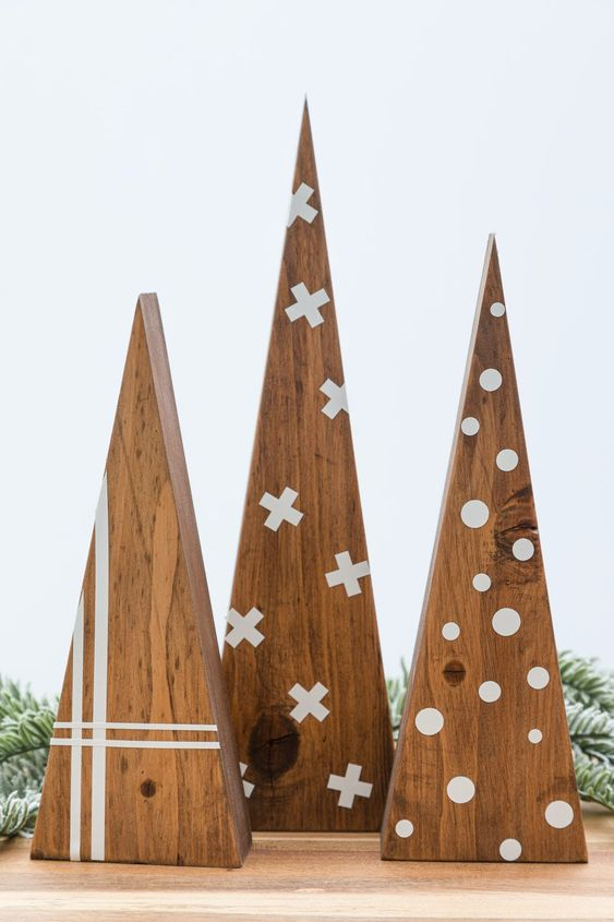 Idée de sapin en bois de style scandinave
