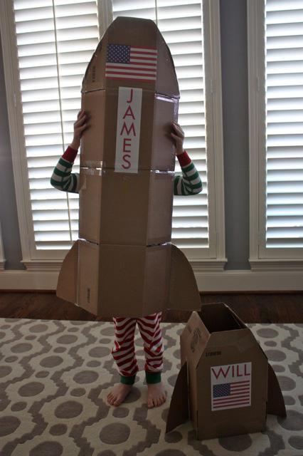 Fabriquer une fusée en carton