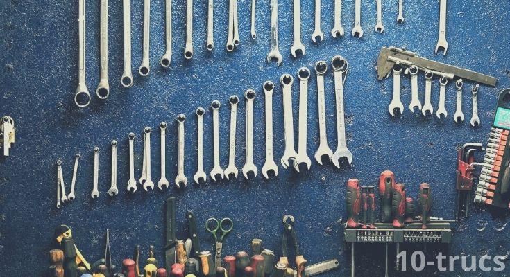 Astuces et idées rangement pour atelier et garage