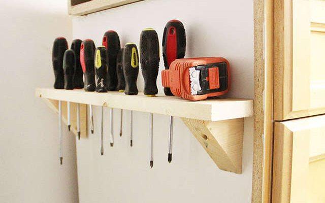 idée pour ranger l'atelier et le garage