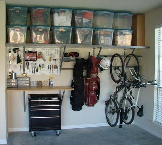 rangement du garage