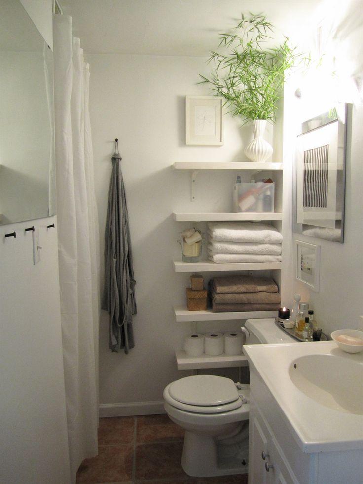 rangement sur le cote toilette