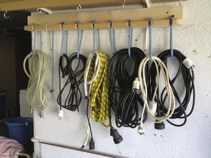 ranger les extensions et les cordes