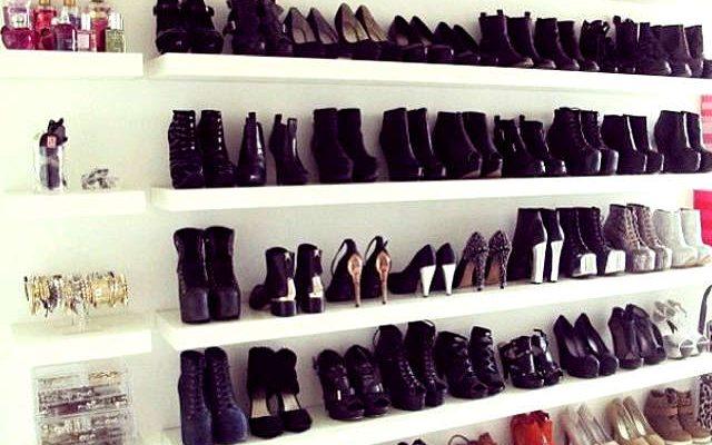 Ranger les chaussures