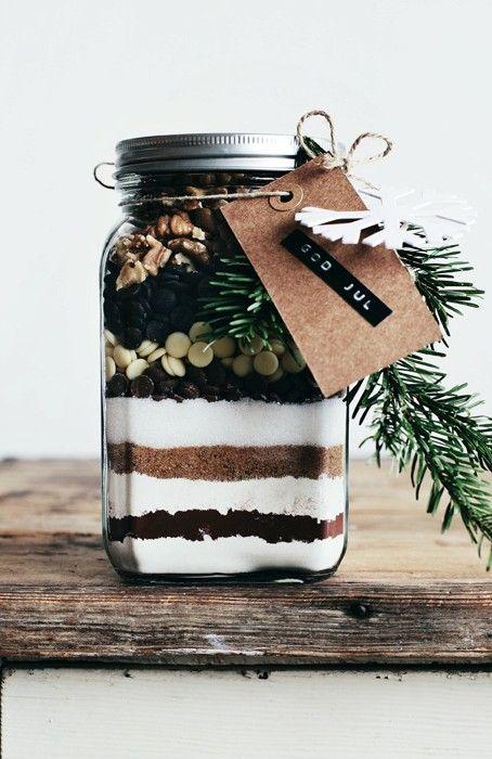 Recette de brownies comme idée cadeau à Noël