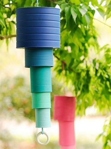 Fabriquer un carillon pour le jardin