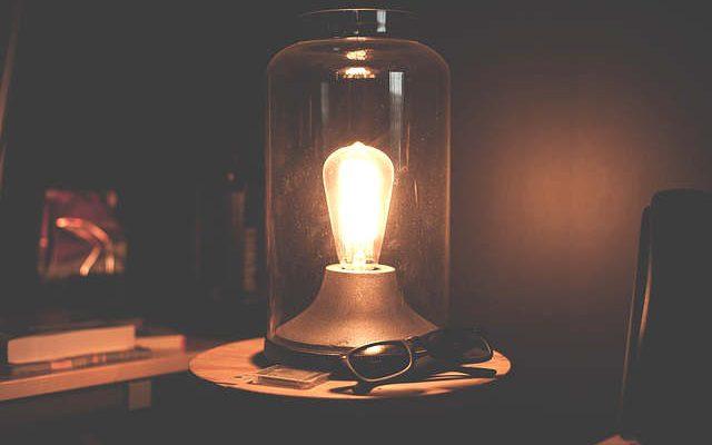 Lampe originale à fabriquer
