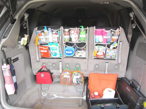 Idée pour organiser et ranger la voiture