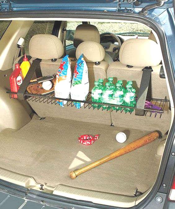 rack pour ranger vos articles de sport dans la voiture