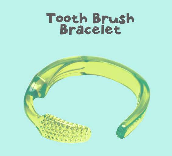 Transformer une brosse à dent en bracelet