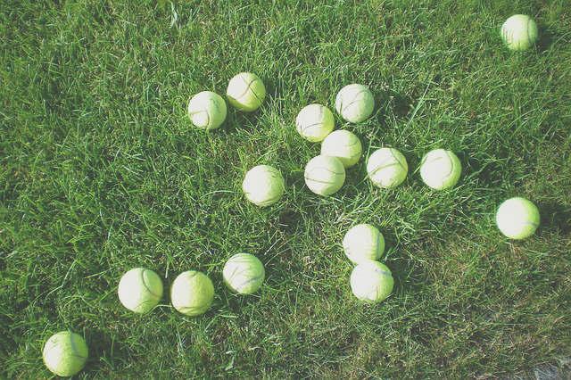 truc à faire avec des balles de tennis