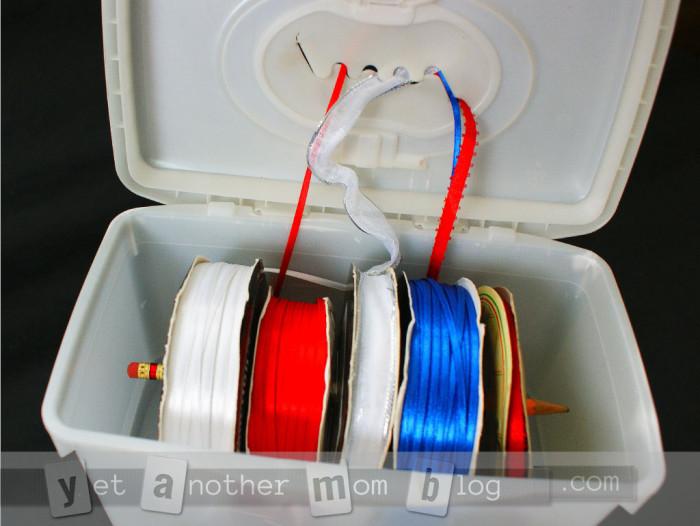 Fabriquer un distributeur de ruban