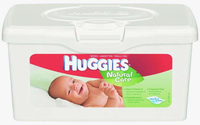 Idée avec des boites de lingette de bébé