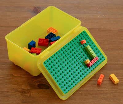 diy rangement pour les blocs lego