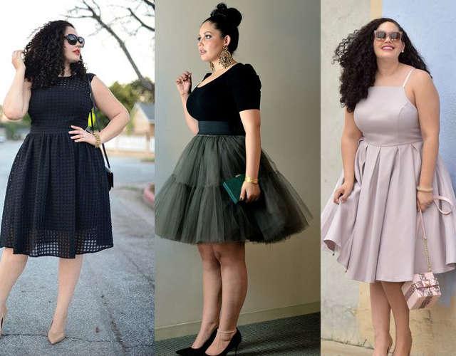 robe de bal pour femme ronde