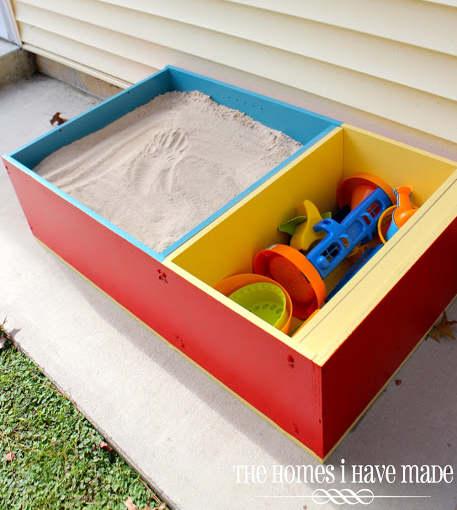 Carré de sable pour votre enfant cet été