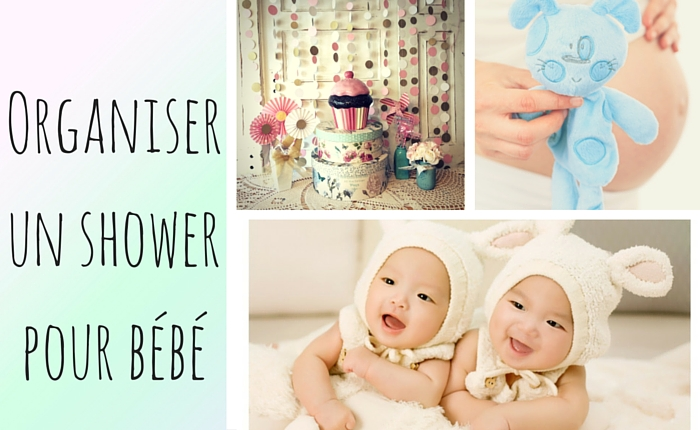 comment organiser un shower de bébé