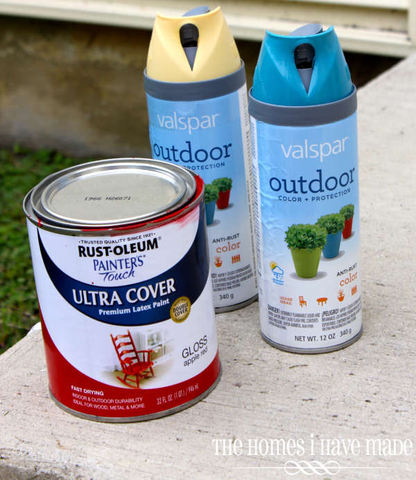 peinture extérieur pour bac à sable