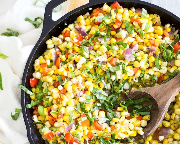 Salade de maïs pour cet été