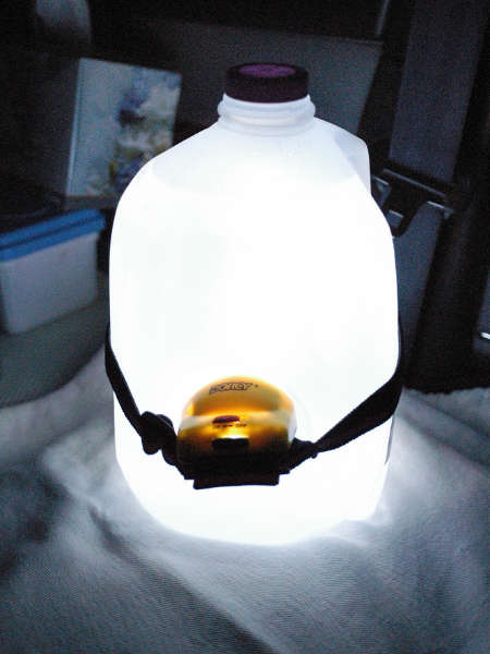 DIY lampe de camping à fabriquer