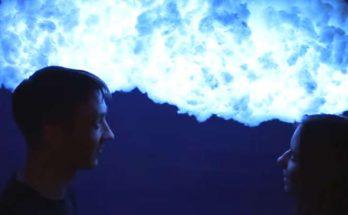 fabriquer une lampe nuage lumineux