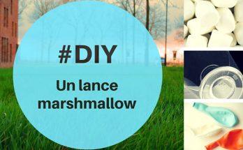 fabriquer une lance marshmallow maison