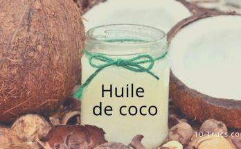 huile de coco, bienfaits et utilisation