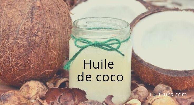 Comment utiliser l'huile de coco