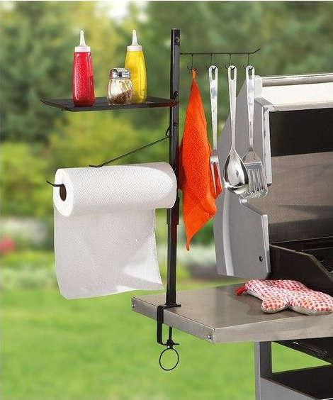 kit de support pour le barbecue