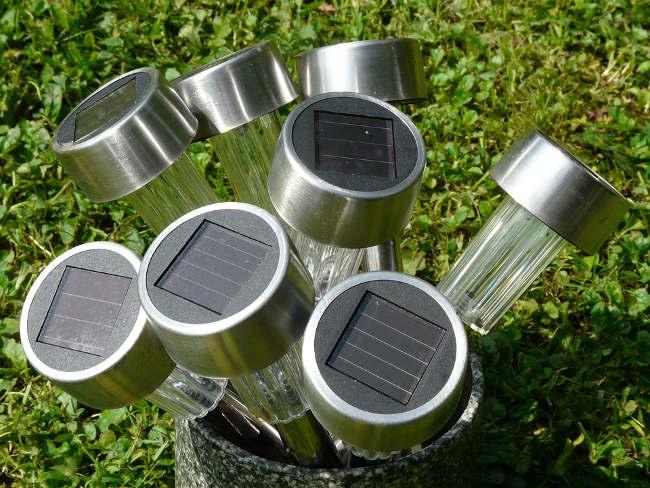 Lampe solaire pour le camping