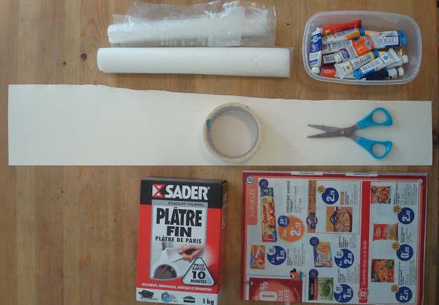 matériel pour fabriquer des craies à tableau noir