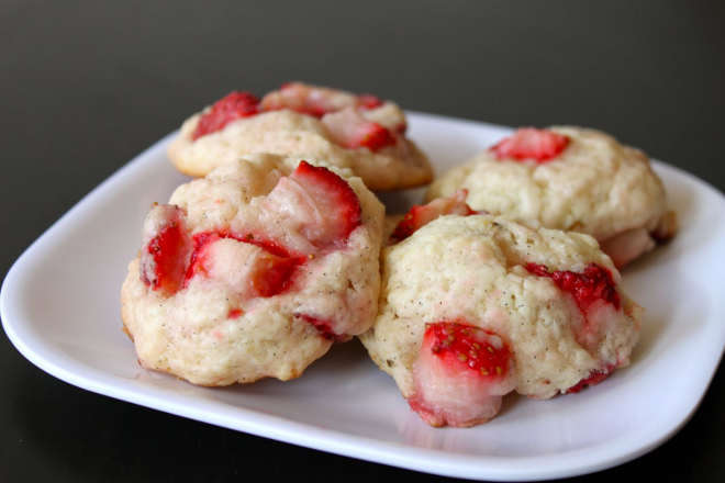 Biscuit aux fraises shortcake