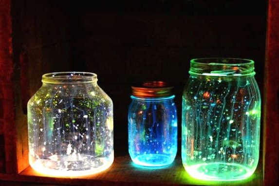 diy lampe fluorescente