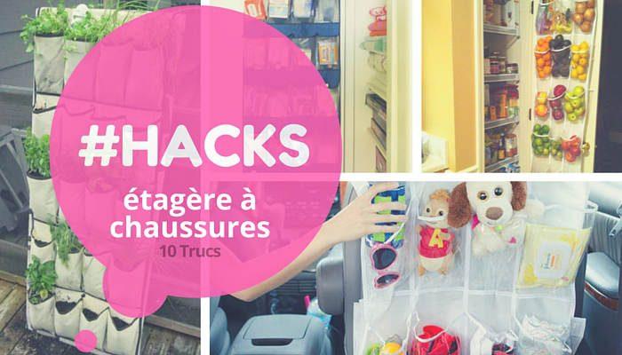 hack étagère à chaussures à suspendre