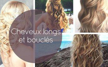Idée pour cheveux longs et bouclés