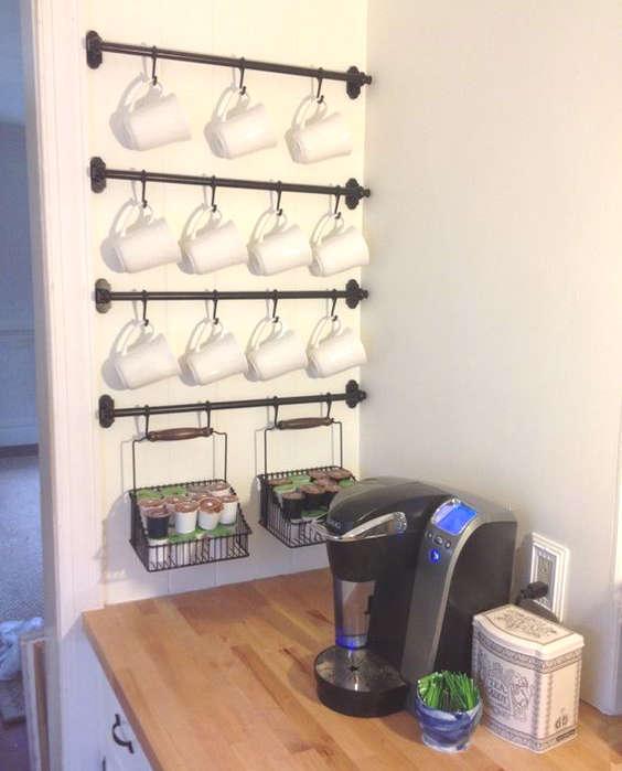 coin café dans la cuisine accessoires Ikea