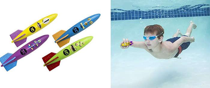 Model rocket pool