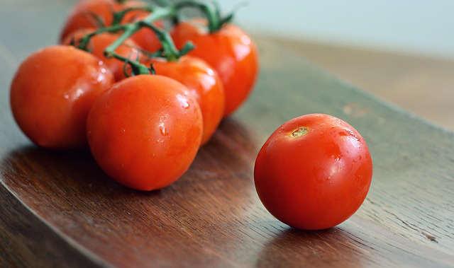des tomates comme brûle graisse