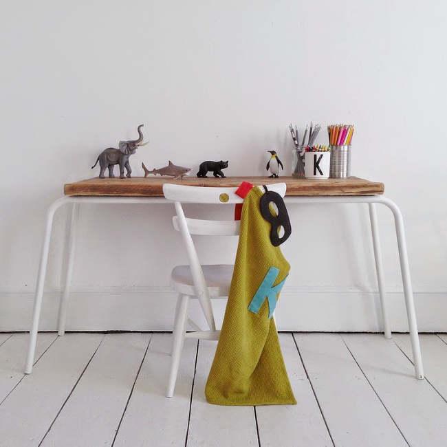 un coin devoir minimaliste pour enfant